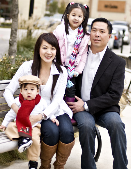 Dr. Chen and his family